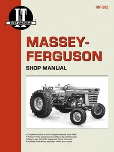 I t Shop Manual Massey Ferguson Compilation Mf175 Mf180 Mf205 Mf210 More