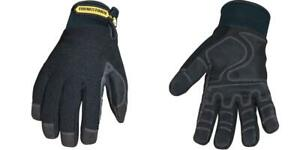 Youngstown Glove 03 3450 80 s Waterproof Winter Plus Gloves Small Black