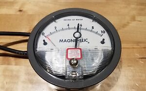 Dwyer Instruments Inc 2010 asf Series 2000 Magnehelic Differential Pressure Gag