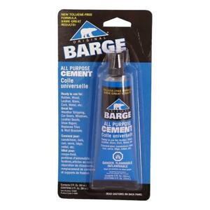 Barge All purpose Tf Cement Rubber Leather Wood Glass 2 Ounces Clear
