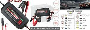 Ip65 Lst Boat Battery Charger Maintainer 12v Trickle Deep Cycle Water