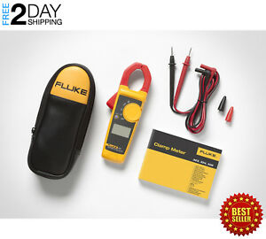 Clamp On Amp Meter Dc Electrician Tester Volts Ohms Test Electrical 400 Amp