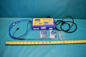 Used Hakko Fg 101 With Sensors And Soldering Accessories