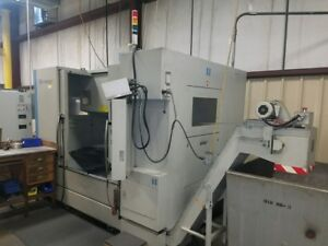 Hardinge Gx 1000 Vertical Machining Center 4th Axis Rotary Fanuc Oimd new 2010