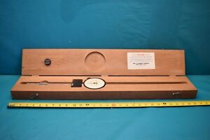 Used Starret Dial Indicator 656 7041 With Wooden Case