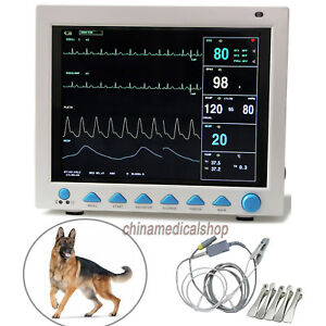 Veterinary Portable Patient Monitor Multi parameters Vital Signs Monitor Animal