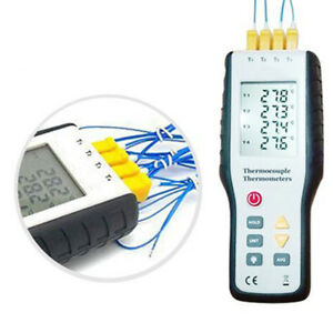 Handheld Lcd Display Digital Infrared Thermometer Thermocouple Sensor