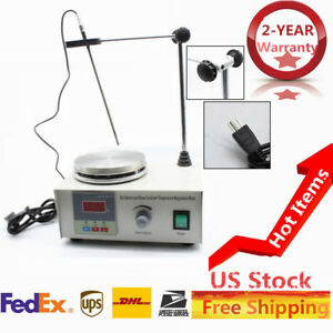 Magnetic Stirrer With Hotplate Digital Mixer Heating Plate Control 110v 200w New