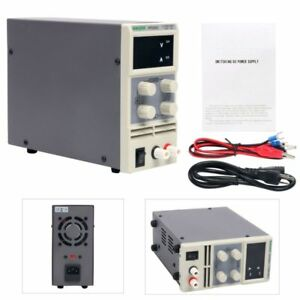 Kps305d Variable Linear Adjustable Lab Dc Bench Power Supply 0 30v 0 5a New