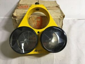 Allen Precision Equip Triple Prism For Use With Survey Level Base For Parts