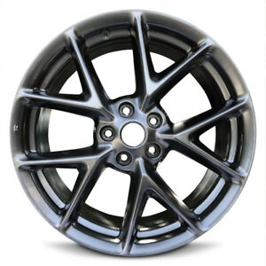 New 19x8 Hyper Aluminum Alloy Wheel Rim For 2009 2011 Nissan Maxima 5 114 3mm