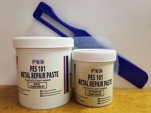 Pes101 Power Metal Paste Comparable To Belzona 1111 And 3m Metal Repair Eg 503