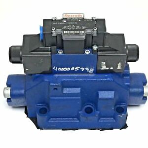 New Rexroth R978874065 Directional Spool Valve Mounted To N9edal b12 Sub Plate