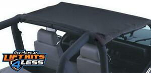 Rampage 90801 California Brief Soft Top For 1987 1991 Jeep Wrangler Yj