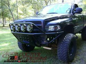 Add F543111000103 Stealth Front Bumper For 1993 2001 Dodge Ram 1500