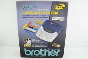 Brother P touch Label Maker pt 2200