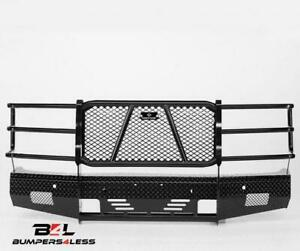 Ranch Hand Fsc14hbl1 Summit Series Blk Pc Front Bumper For 2014 2015 Chevy 1500