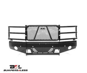 Ranch Hand Fsc151bl1 Summit Blk Pc Front Bumper For 15 18 Chevy 2500 Hd 3500 Hd