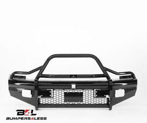Ranch Hand Btd101blrs Legend Series Black Pc Front Bumper For 2010 2018 Ram 2500