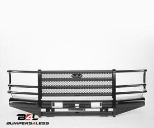 Ranch Hand Fbf921blr Legend Series Black Pc Front Bumper For 1992 96 Ford Bronco