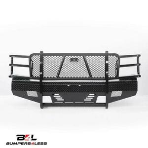 Ranch Hand Fsc111bl1 Summit Blk Pwdrcoat Front Bumper 11 14 Chevy 2500hd 3500 Hd