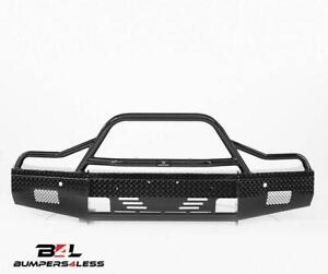 Ranch Hand Bsc14hbl1 Summit Series Blk Pc Front Bumper For 2014 2015 Chevy 1500