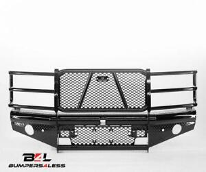 Ranch Hand Fbc151blr Legend Blk Pc Front Bumper For 15 18 Chevy 2500 Hd 3500 Hd