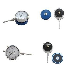 Magnetic Back With Dial Indicator Chrome Finish Heavy Duty Tools Accessories Kit