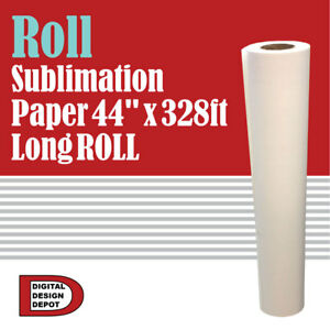 Roll Sublimation Paper 44 X 328 Ft Long Roll