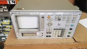 Hp 4145b Semiconductor Parameter Analyzer For Parts 2