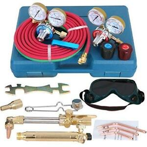 Zeny Portable Gas Welding Cutting Torch Kit Professional Oxy Acetylene Oxygen