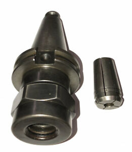 Kennametal Cat 40 Taper Tg75 Collet Chuck W 3 8 Collet Stock a49