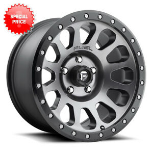 Fuel Vector D601 Rim 20x10 5x127 Offset 18 Anthracite Quantity Of 4