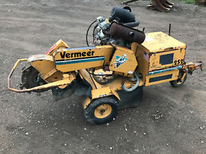 Vermeer 252 Sc252 Stump Grinder Self propelled 35hp Briggs Vanguard Gas Engine