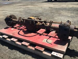 2007 Ford E450 Rear End Complete