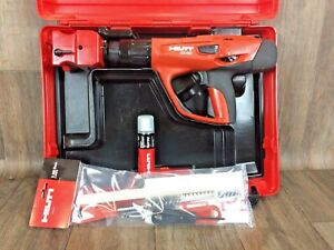 Barely Used Hilti Dx 462 X cm Kit Marking Powder Actuated Tool Stamping Hm
