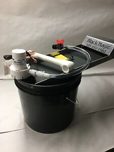 Black Magic Fine Gold Recovery System Mini Bucket Recirculator Sands Sluice