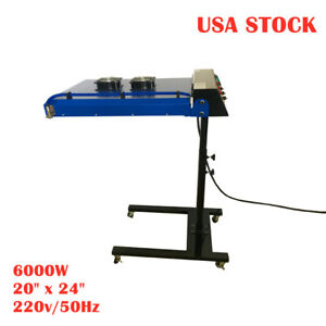 20 X 24 Silk Screen Printing Automatic Ir Flash Dryer With Sensor 6000w Us