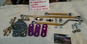 Hurst Comp Linkage Kit With Lightning Rods muncie T 10 With Or W o console