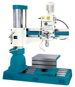 49 2 Arm 11 81 Column Clausing Cl1250h Radial Drill