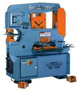 70 Ton 9 Thrt Scotchman Do 70 110 24m made In The Usa New Ironworker Dual Op