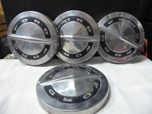 Ford Galaxie Fairlane Ltd Pickup Truck Hubcaps Wheel Cvrs Center Caps Fomoco