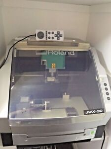 Roland Jwx30 Jewelry Modeling Machine Wax Pattern Machine Cad Cnc Mill Lathe