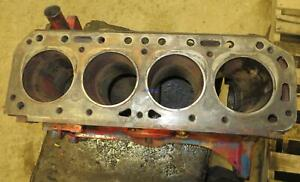 Ford Newholland Fo 172 Engine Block Used 310609 Has Damaged Lower Bore