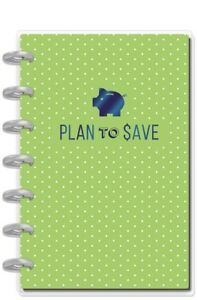 nwt The Happy Planner Jan 2019 Dec 2019 Budget Mini plan To Save