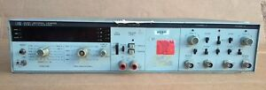 Hp 5328a Universal Frequency Counter opt 011 021 041 Hp ib Voltmeter Dvm