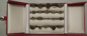20 Ancient Roman Children S Rings Including One Silver Two Signet Seal Rings