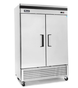 Migali C 2rb Commercial Two Door Refrigerator Reach In 49 Cu ft Free Shipping