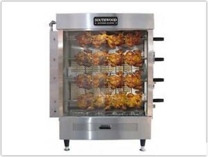 Southwood Rg4 20 chicken Natural Or Propane Gas Heavy Duty Rotisserie Machine