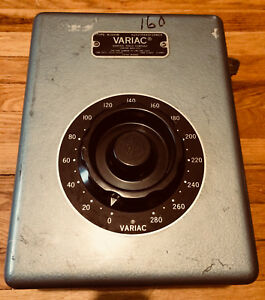 Variac W30hm 12 Amp 0 280v 3 74 Kva In Original Enclosure General Radio 2